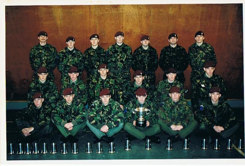 B Coy 2 Para, March & Shoot winners 39 Bde competition 1995