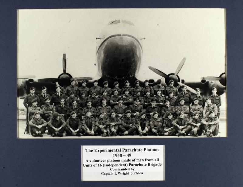 Group Photograph of Experimental Parachute Platoon 1948-49
