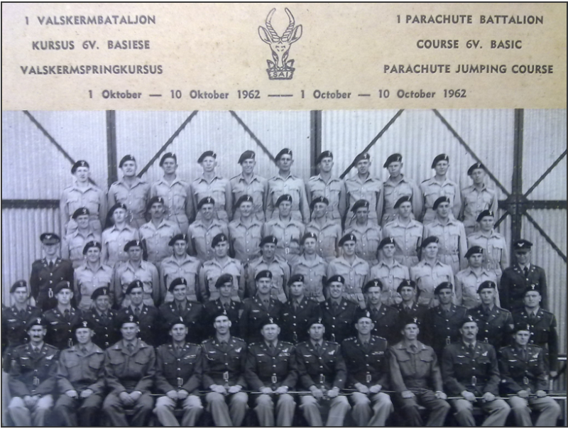 1962 the 6th Basic Parachute courses (Short)