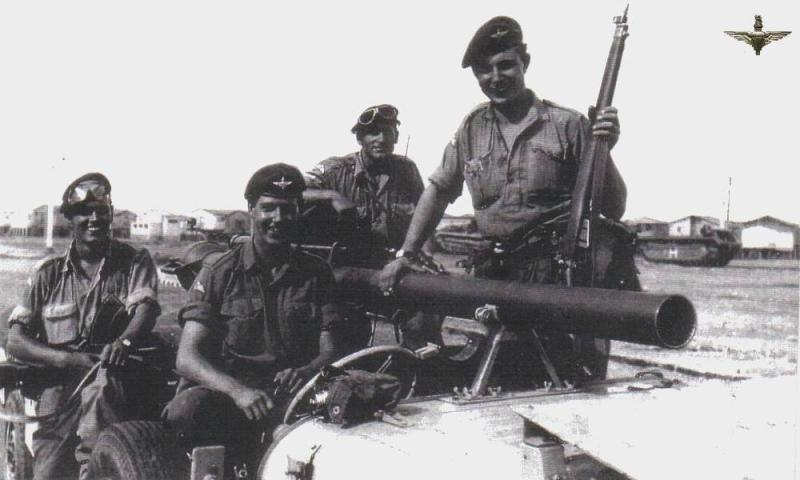 1956 Suez Invasion D Coy Anti Tank Crew