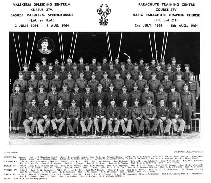 3 Of My Hanger instructors were from the original Abingdon trained group from 1960 who founded #1 Parachute Bn. in 1961