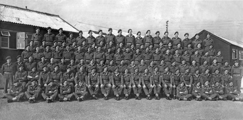 3rd Btn Palestine Circa 1945. Cyril Rowell 3rd Row 5th from left