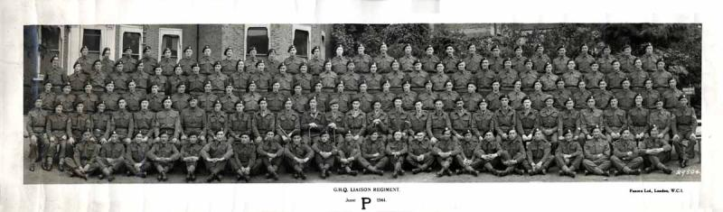 GHQ Liaison Regt. Regimental Photo June 1944