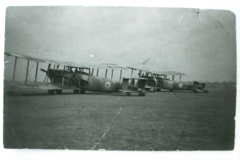 Vickers Valencia aircraft on the ground, Willingdon Airport, New Delhi, 1941.