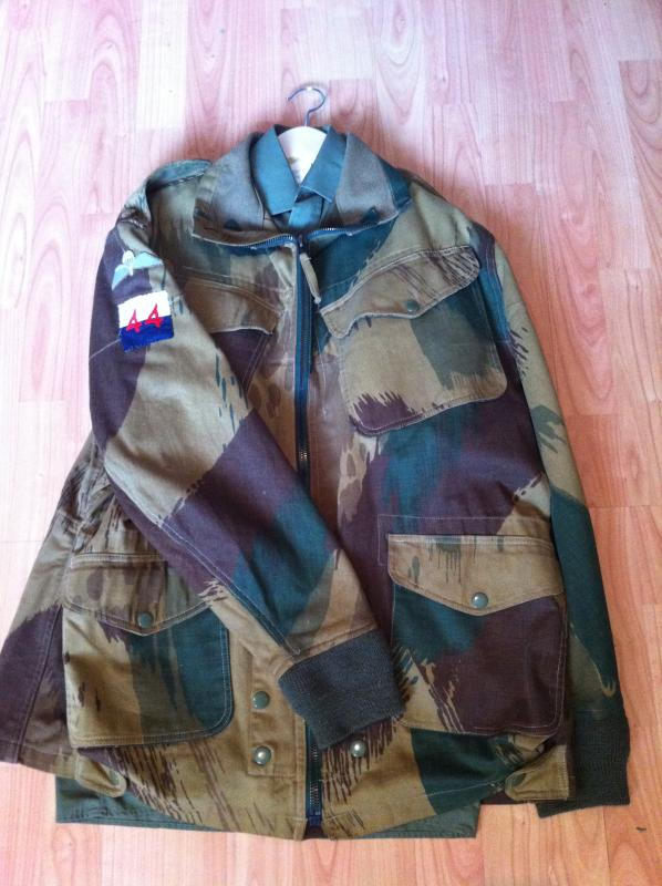 '59 Pattern Denison Smock, dated 1966, made by BMC. Badged to 44th Parachute Brigade, Signals.