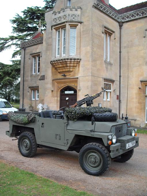 We recreated a PARA Lightweight Recce in 2010 for Charity Fund-Raising use