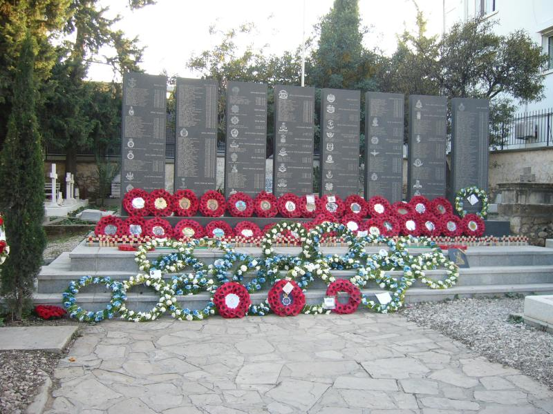Cyprus Memorial Remembrance Sunday Kyrenia 2014