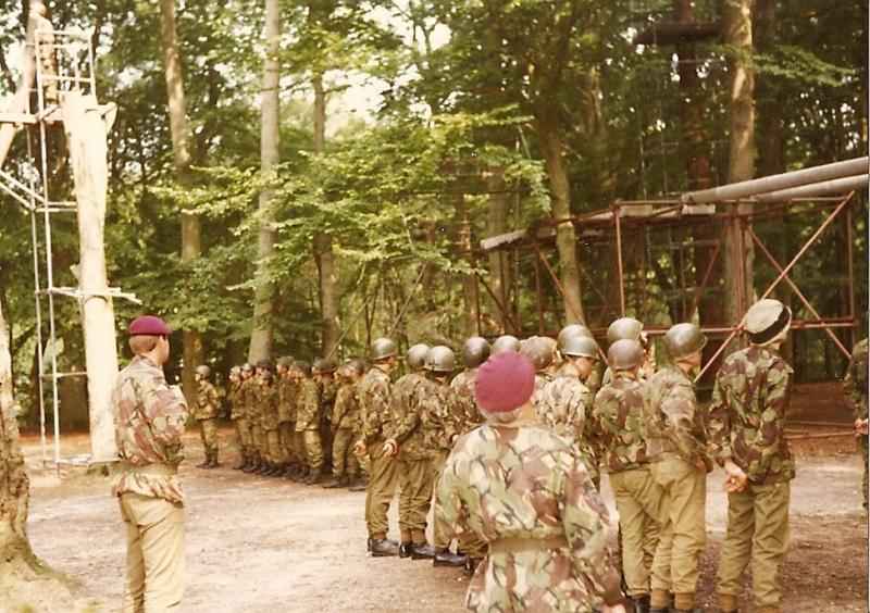 10 Para Training Wing Tranasium Aldershot July 1983
