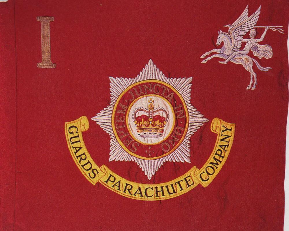 The 2nd Battalion Parachute Regiment Queens Colours flag